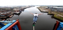 The UK's Only Bridge Bungee Jump