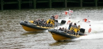 London High Speed Boat Tour for up to 12 People