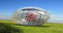 Harness Zorbing for 2 People in Surrey